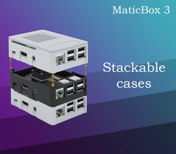 MaticBox 3 - stack Raspberry Pi together