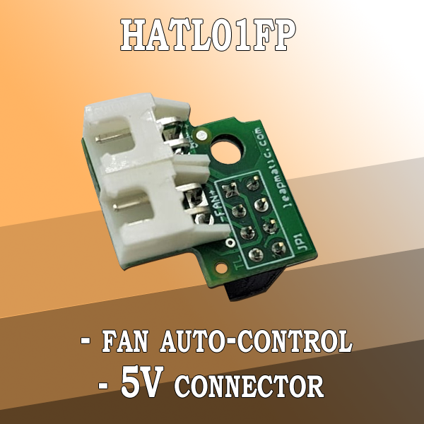 HATL01FP Fan Auto-Control Module with 5V connector for Raspberry Pi
