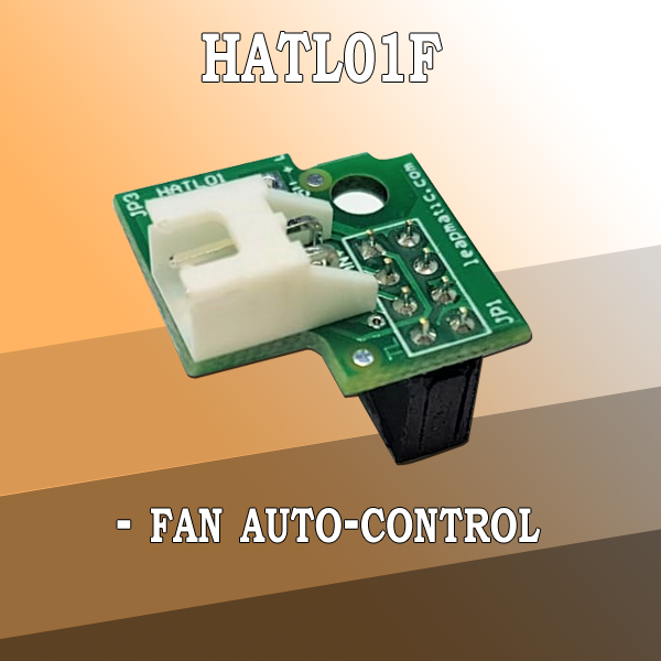 HATL01F Auto-Fan Control for Raspberry Pi
