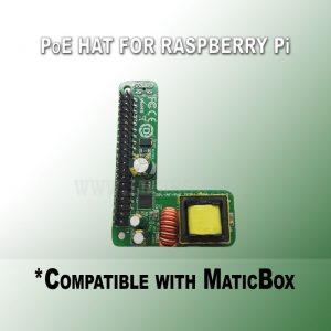 PoE HAT for Raspberry Pi